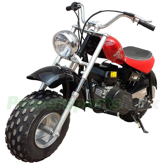 200cc Dirt Bike, with Automatic Transmission, and Recoil Start,Chain Drive!