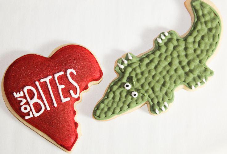 Love bites cookies valentines day cookies valentines