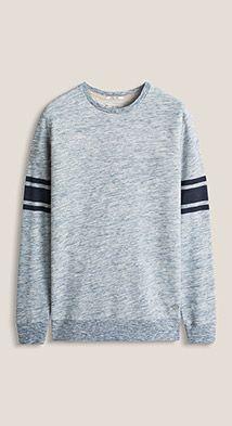 Esprit / Cotton blend melange sweatshirt
