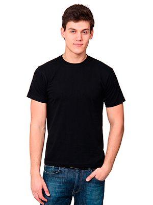 """Футболка мужская """"T-bolka 140"""", черная - футболки с логотипом"""