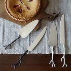 gift ideas: twig cheese knife set