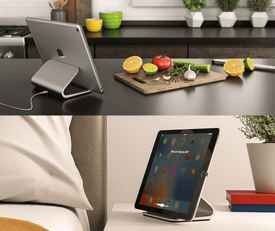 Logitech Base is a charging stand designed for Apple's unique Smart Connect technology used in iPad Pro. Easy, place-and-charge technology and in-use charging.