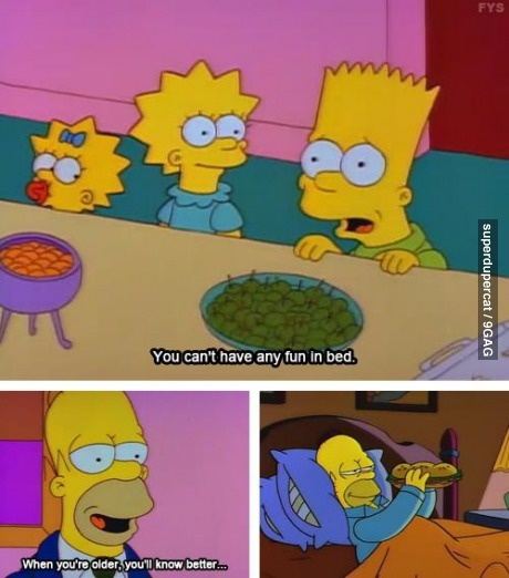 Oh, Homer! The Simpsons