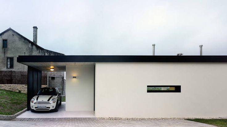 미래를 위해 설계된 집 : 저비용의 독특한 주택 외관 (출처 Jihyun Hwang)