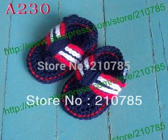 Crochet Baby Sandals for Boys, Flip Flop Sandals, Crochet Baby Shoes 150pairs Free shipping #Affiliate