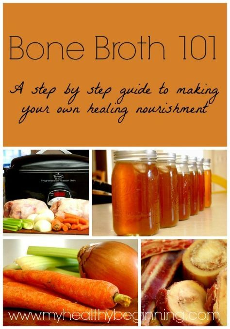 Bone Broth 101: A step by step guide to making your own healing nourishment