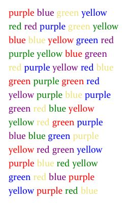 the stroop effect automatic and controlled The stroop effect experiment control group the stroop effect, named after john ridley stroop and is often used to illustrate automatic processing.
