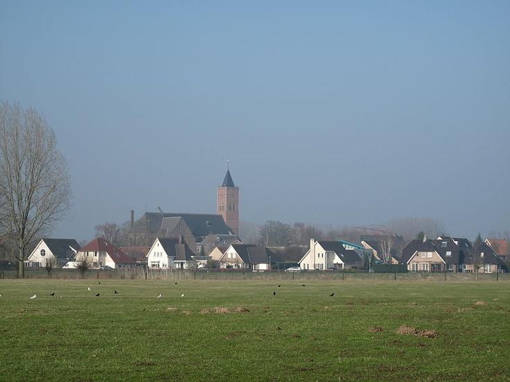 Dorpsgezicht van Giesbeek (gemeente Zevenaar).