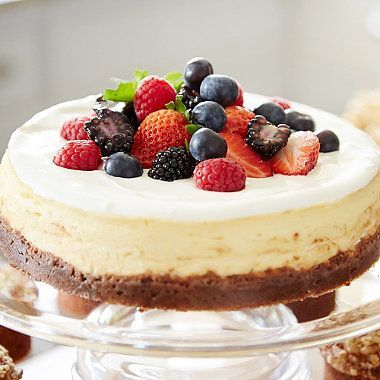 New York Baked Cheesecake Recipe Bbc Good Food