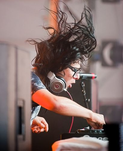 Skrillex  at the HangOut Music Festival  Alabama May 2012. Yes, I was front-row'n'center.  Jimmy's assessment: Top 4.  Because the best are incomparable.