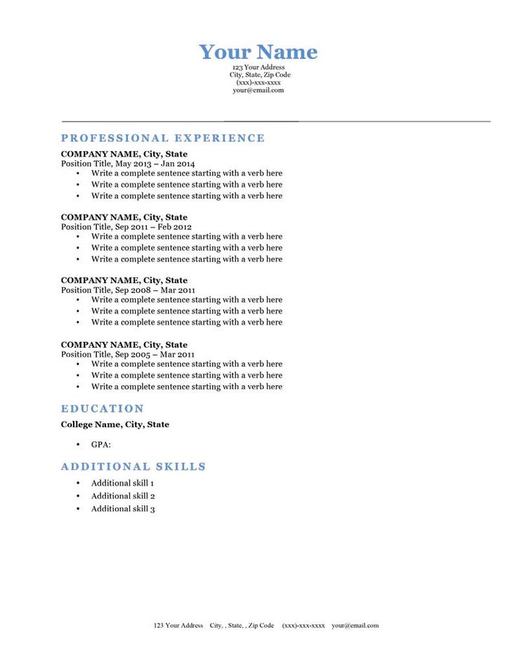 25 best images about Resume Genius Templates Download on – Free Resume Templates Download Word