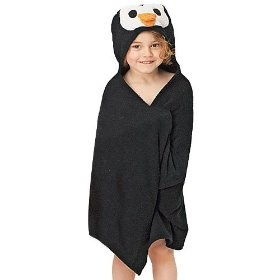 Pinguin Hooded Towel, (hooded towels, baby towel, bath towels, childs towel, towel, hooded towel, kids, toddler, towels, baby gift), via https://myamzn.heroku.com/go/B005QCA4CG/Pinguin-Hooded-Towel