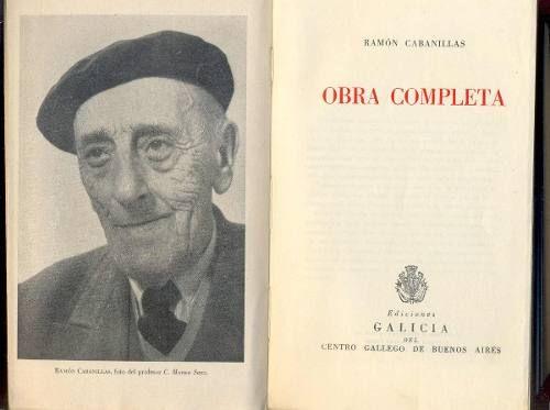 Ramón Cabanillas Obra Completa. C1