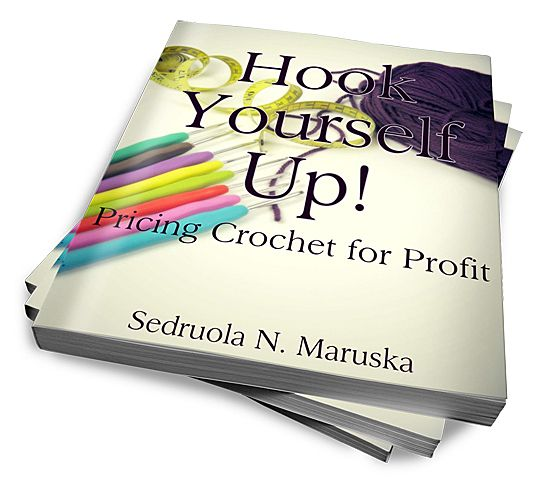 "New Book Release - ""Hook Yourself Up: Pricing Crochet for Profit"" - Confidence in pricing pieces for sale comes when you're absolutely sure how your price affects your business. Learn to price for profit.   Limited Time Offer - Receive extra ""Finding Your Target Audience"" book within this book until August 2, 2015 (Pinterest Exclusive)"