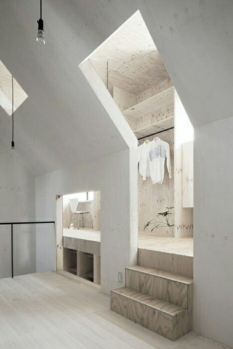#architecture #wood #white