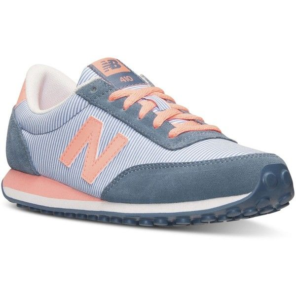 New Balance Womens 410 Casual Sneakers from Finish Line 30  liked on  Polyvore