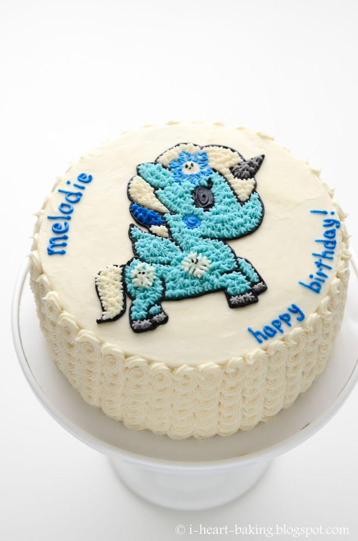 winter yuki tokidoki unicorn birthday cake
