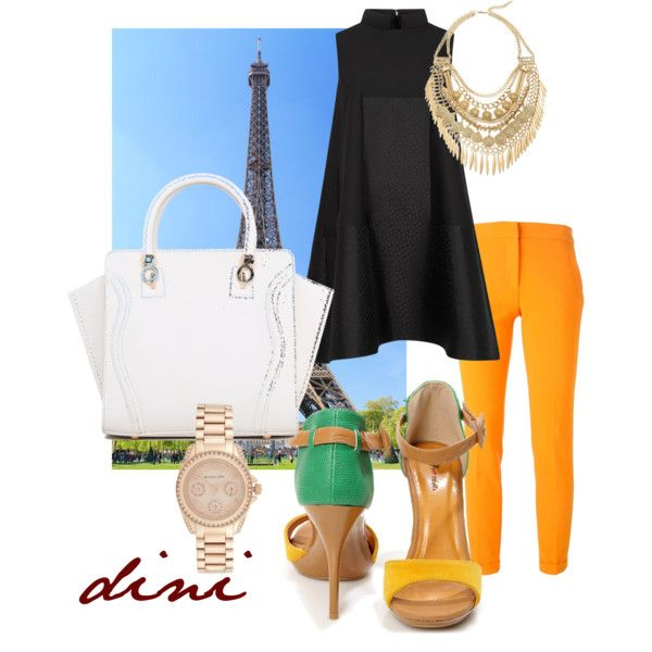 Untitled #161 by dini-ph on Polyvore featuring Alexander McQueen, MSGM, Michael Kors and Cara