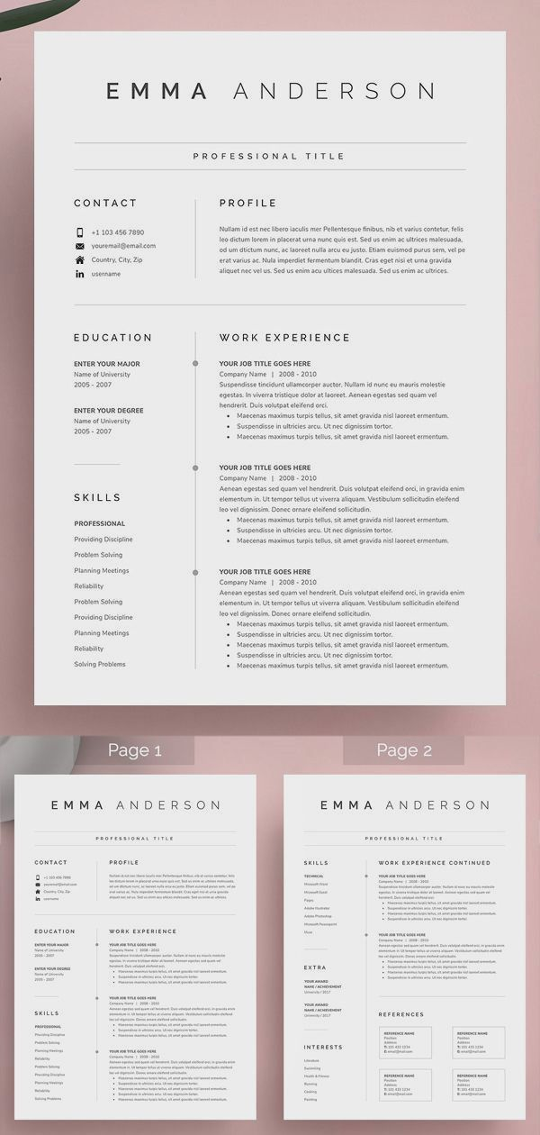 Unlimited Downloads Resume Templates And Edit Using The Resume Builder Unlimited Designs Resume Design Template Cover Letter For Resume Resume Template Word