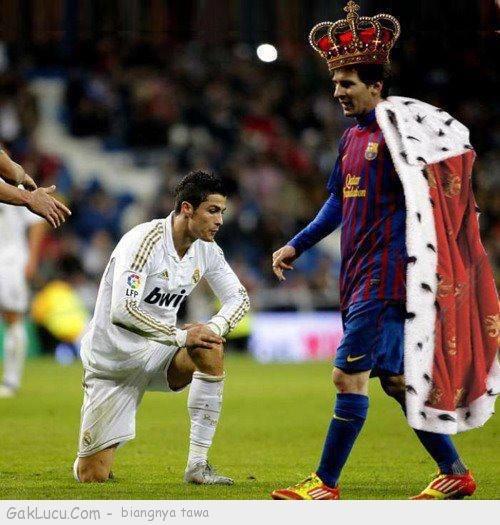 Lelucon berjudul King Messi yang dibuat oleh Tpao di www.GakLucu.com. Temukan juga lelucon lain yang mirip.