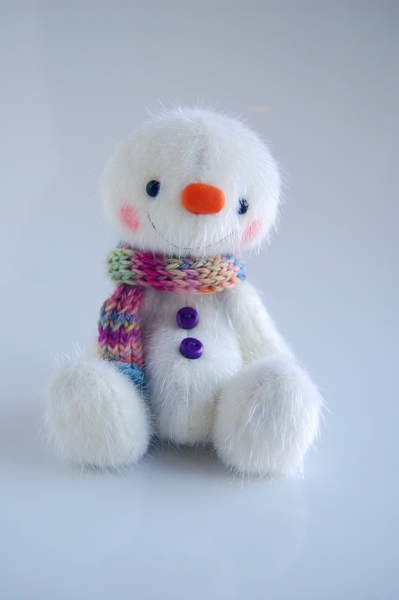Snowman Freezy By Nathalie`s Bears - Bear Pile