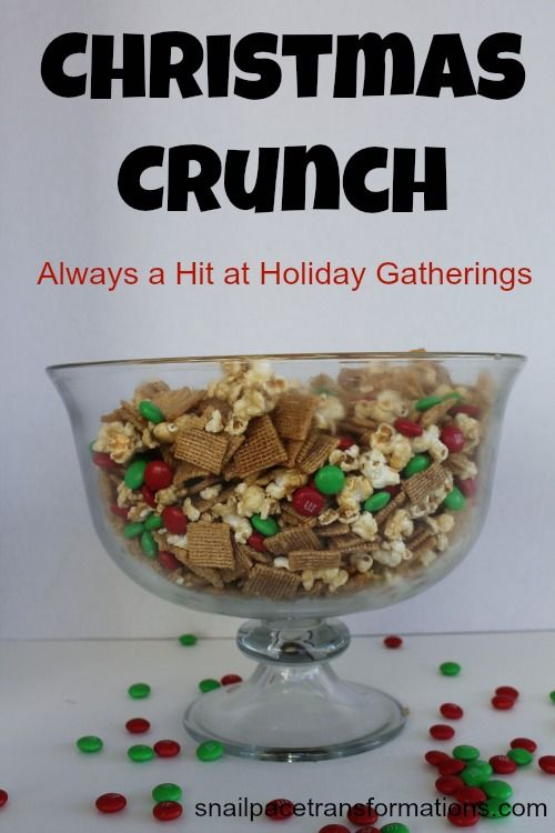 Great for gift giving or share the bowl during an evening of watching Christmas shows with the family.