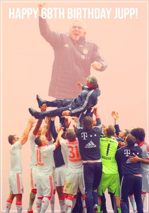 Coach Jupp Heynckes