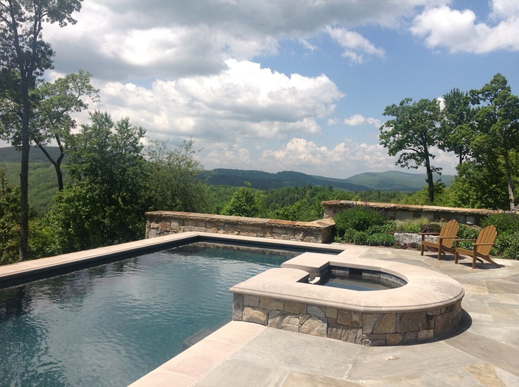 Swimming pool, Sagee Manor (Highlands, North Carolina)
