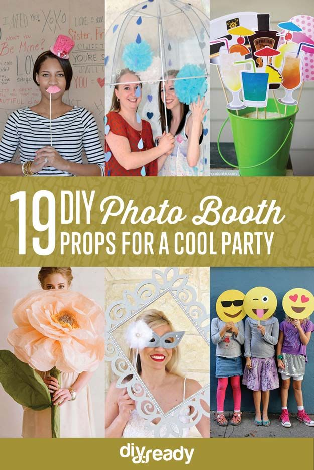The 25 best diy photo booth props ideas on pinterest photobooth cool diy photo booth props solutioingenieria Images
