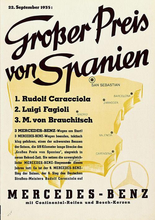 Grosser Preis von Spanien, 1935