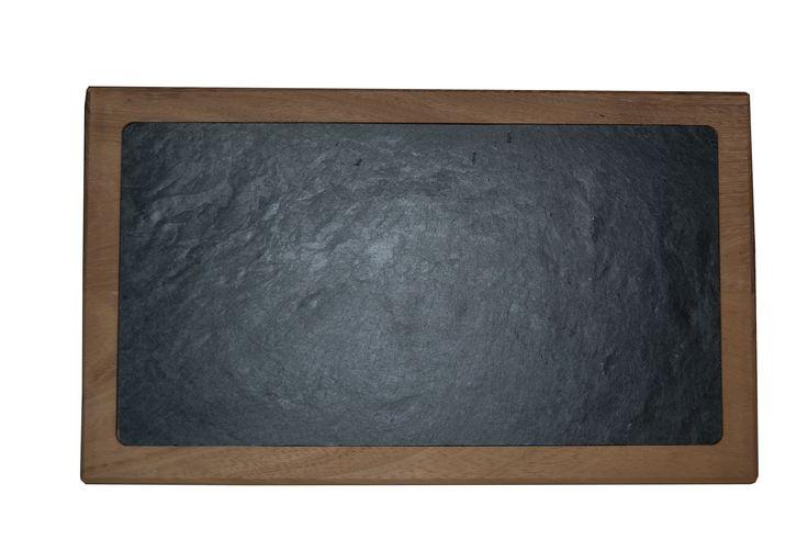 Tabla de madera para pizarra de 40X22 cm http://www.platosypizarras.com #slate #boards #slate #ardoise #ardosia #decoração #decoracion #decoration #décoration #pizarra #cocina #cuisine #cozinha