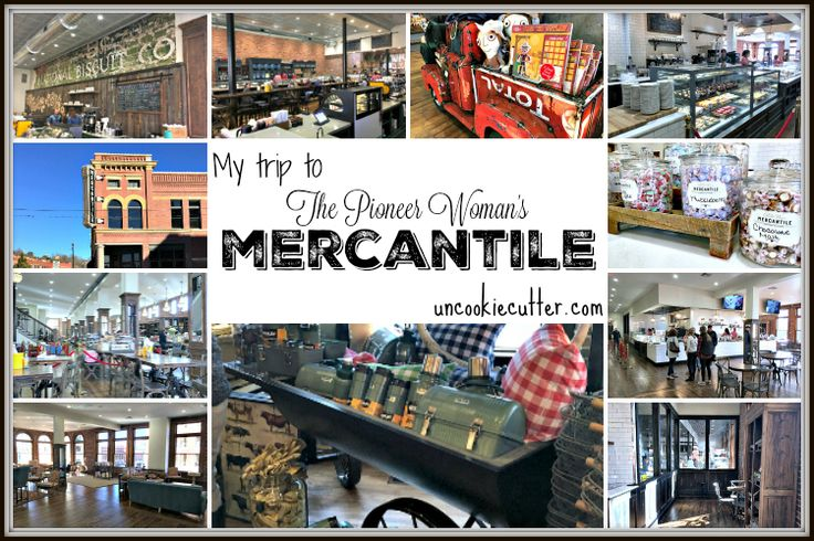 I recently visited The Pioneer Woman Mercantile store in Pawhuska, Oklahoma. I've been a long time fan of hers and was so excited to see the new place!