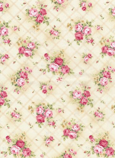 Printable background pink roses