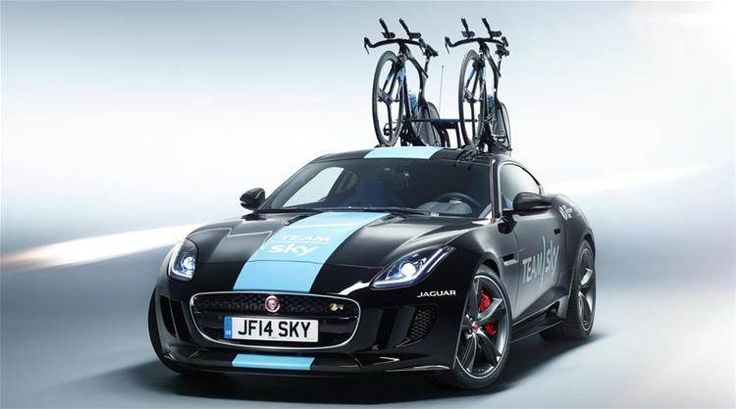 jaguar with bike rack tour de france - Bing Images