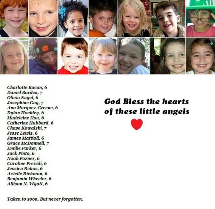 SANDY HOOK ELEMENTARY VICTIMS