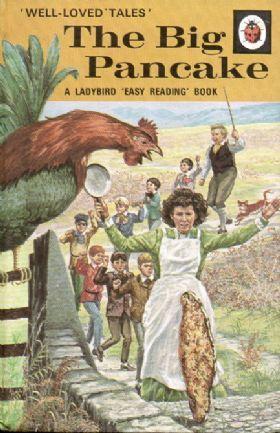 THE BIG PANCAKE Vintage Ladybird Book Well Loved Tales Series 606D