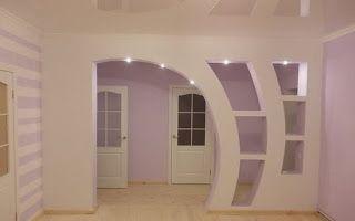 اقواس جبسية اقواس جبسية عصرية اقواس جبسية للمداخل اقواس جبسية للصالات اقواس جبسية مغربي Modern Home Interior Design Modern Houses Interior Home Interior Design