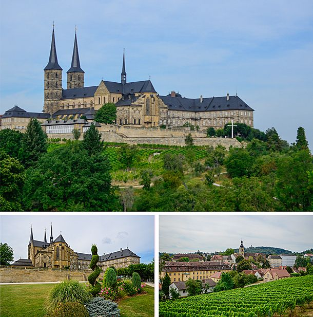 The+Michaelskirche+Monastery+and+its+vineyard,+Bamberg,+Germany