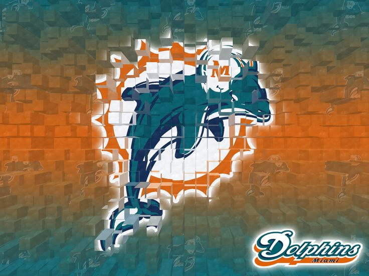 Miami Dolphins 3D Wallpaper: Dolphins Wallpapers, Football Dolphins, 3D Wallpapers, Definitions Wallpapers, Miami Dolphins Logos, Design Wallpapers, Sports Wallpapers, Football Team, Logos Wallpapers
