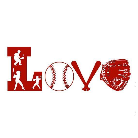 Download Free Baseball Love Svg - Free SVG Cut File