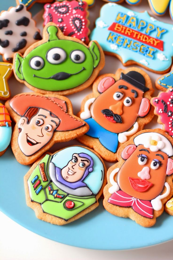 Toy Story Cookies