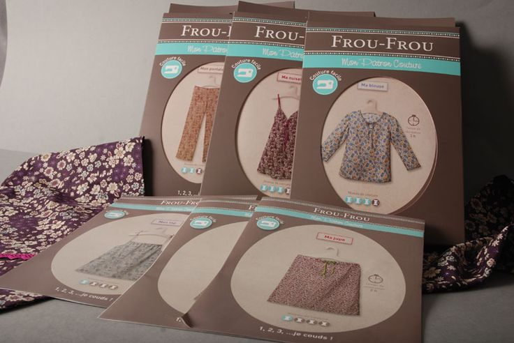 Nouvelle gamme Couture Facile Frou-Frou Patrons couture | Mercerie Paritys
