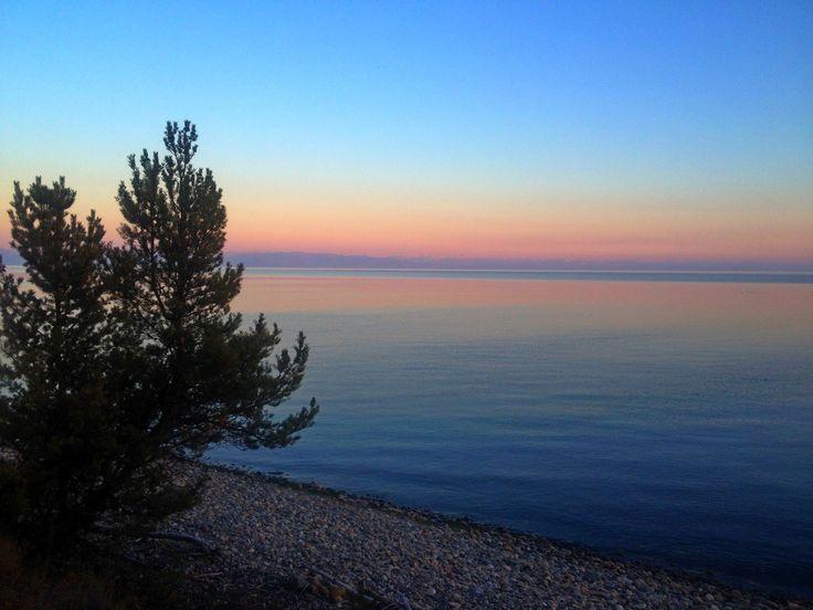Наши ванильные Байкальские закаты