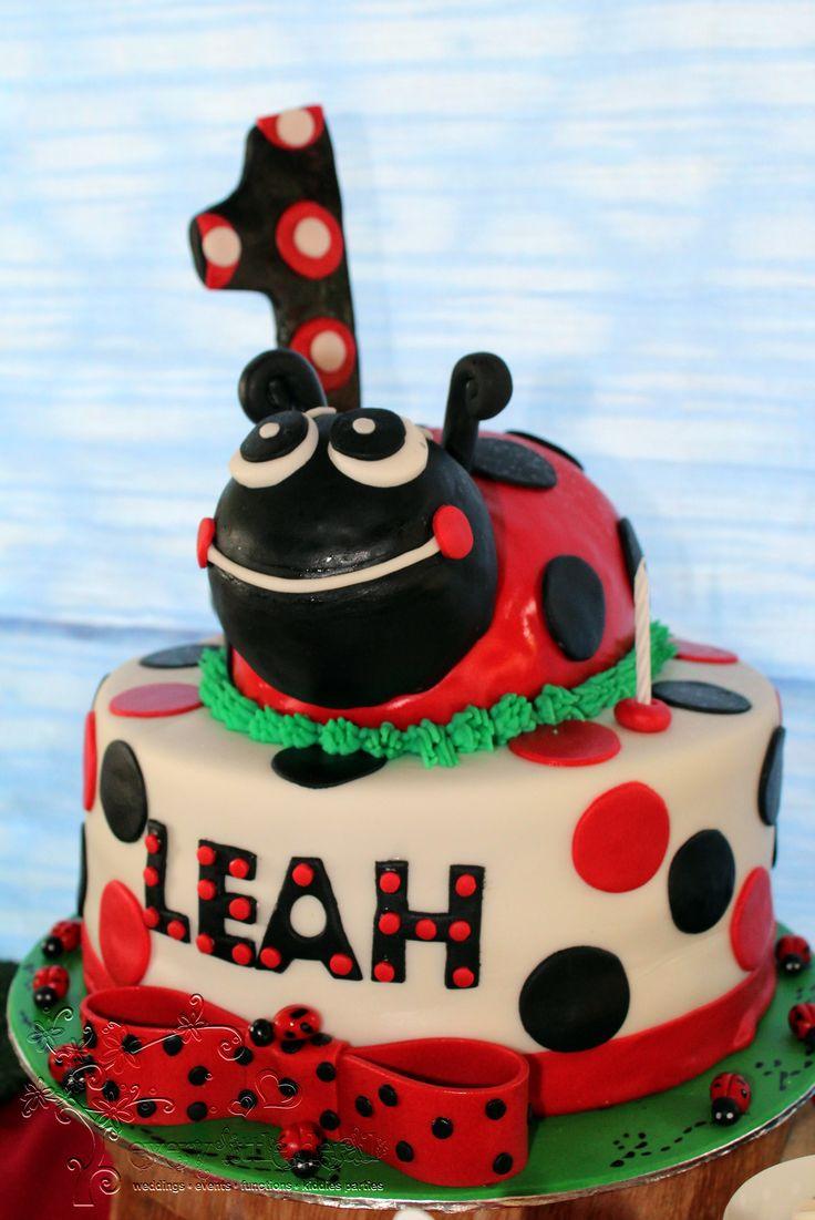 Ladybug Cake #Ladybug #1stBirthday