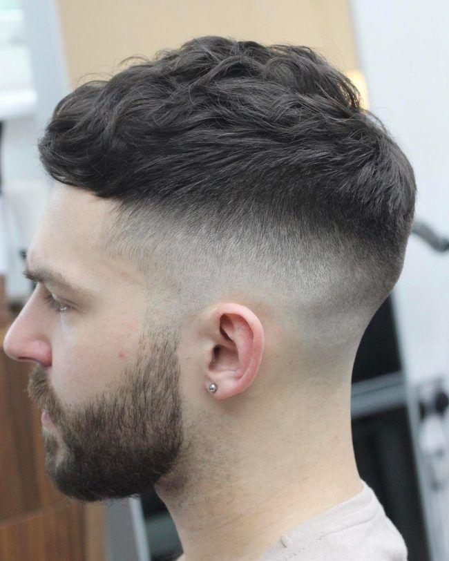 Frisur für Männer mit Glatze Frisuren für Männer mit