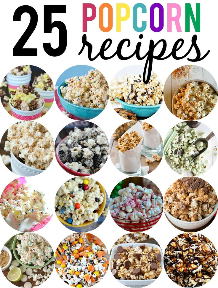 25 Flavored Popcorn Recipes