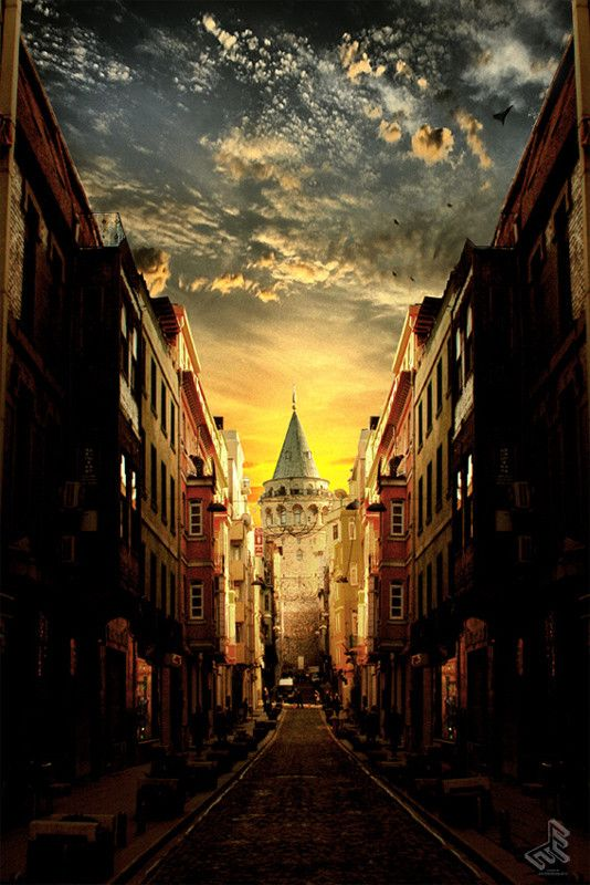 Galata Tower by Erdem Erciyas on 500px
