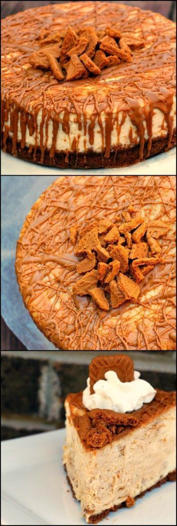 Cookie Butter Cheesecake is the WORLD'S BEST DESSERT!  Oh my gosh I am hooked on this stuff!  Biscoff  cookie butter spread and cheesecake?  A match made in HEAVEN!  This is what dreams are made of! (Orange Butter Cookies)