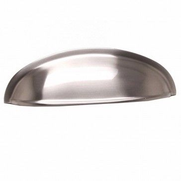 Berenson American Classics Cup Pull, 9896-1BPN-P - Brushed Nickel Finish - Rockler Woodworking Tools