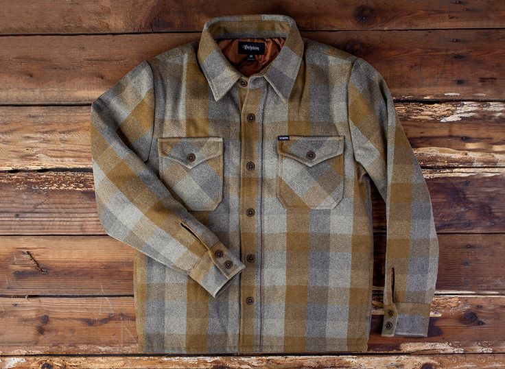 #Brixton 'Watson' Flannel Jacket